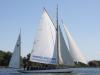 Albatross der Segelschule Marx in Dießen am Ammersee